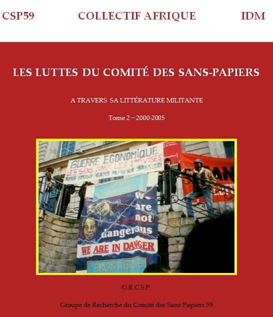 Saïd Bouamama (dir.) , Les luttes du Comité des sans Papiers tome 2