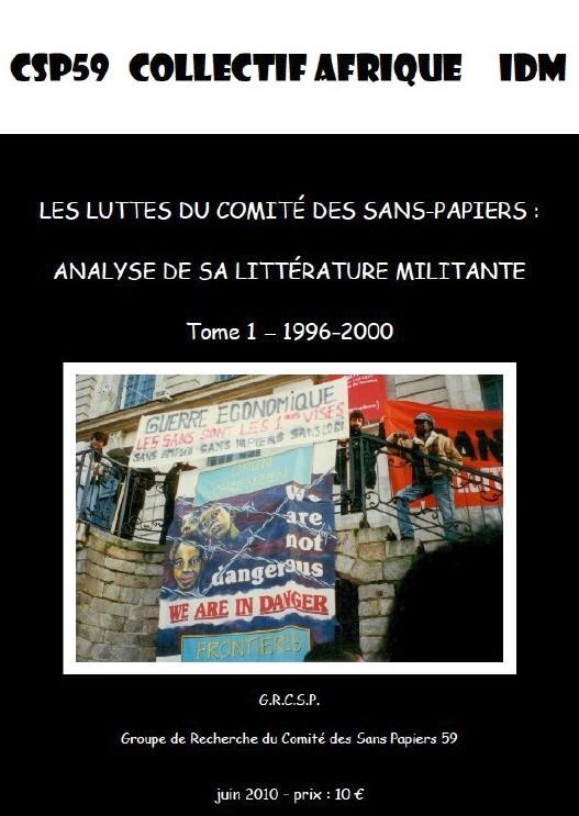 Saïd Bouamama (dir.), Les luttes du Comité des sans Papiers